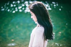 DSC_8327 (Ivan KT) Tags: light shadow portrait woman art girl river photography lotus taiwan exhibition sight conceptual backlighting