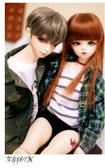 Ji bum-ha + Lee hyang-a (k_noaaa) Tags: doll sweet gale lucas bjd sweetdream volks swd melony sd17