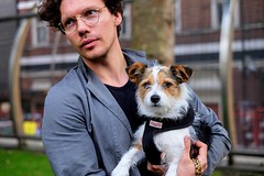 _DSF0837fw (travelstreetmodel) Tags: pet dog cute portrait naturallightportrait london fujixt1 fuji23mm