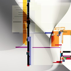 Hydrolic III (Jim Keaton - Structured Art) Tags: light white abstract black building art geometric home scale lines wall modern illustration digital computer landscape hotel office graphic florida contemporary fine gray shapes jim structure transparency prints sarasota concept transparent vector extra gardner keaton dimensional srq structured