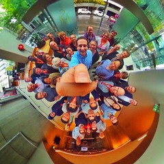 Always stoked when I get to incorporate my love of 360 photography into my professional work as a videographer/photographer. How lame are conventional group shots- the human Christmas bauble is the way of the future  (LIFE in 360) Tags: square 360 virtualreality squareformat spherical 360view theta stereographic thetas photosphere tinyplanet tinyplanets 360panorama panorama360 littleplanet smallplanet 360camera 360photo 360photography 360video iphoneography instagramapp uploaded:by=instagram 360cam tinyplanetbuff tinyplanetfx tinyplanetspro ricohtheta theta360 rollworld livingplanetapp rollworldapp ricohtheta360 ricohthetas lifein360