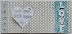 love 4/4 (bkp77) Tags: wedding love scrapbooking heart christening herz liebe hjrta dopkort krlek hochzeitskarte brllopskort taufkarte