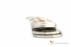 Coins (grobler.inus) Tags: white money silver photography coins stack business growth whitebackground pile luck dollar interest isolated banking wealth ishootraw fotoinusgrobler