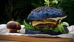 IMG_3040 (ermakov) Tags: orange black green mushroom tomato handmade sauce burger craft meat grill bun helios442