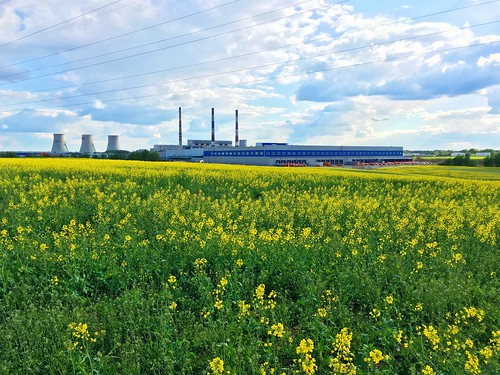 Power plant (CHP-4) in Minsk