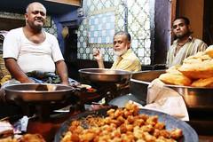 Three Lives (Mayank Austen Soofi) Tags: portrait food dessert three delhi cook lives walla mithai