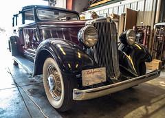 1934 Hupmobile front left 2 (kryptonic83) Tags: 1934 hupmobile oldcars
