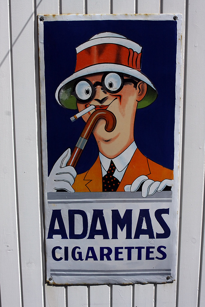 Adamas Cigarettes the world's best photos of plakat and smoking - flickr hive mind