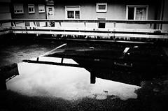 (formwandlah) Tags: city light sky urban bw white abstract black reflection strange rain architecture contrast dark blackwhite high noir darkness pentax outdoor dramatic surreal wolken architektur sw gr monochrom sureal ricoh gebude babylon kaiserslautern abstrakt thorsten watter prinz melancholic schrfentiefe parkdeck bizarr skurril dster einfarbig finsternis minimalismus melancholisch formwandlah