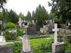 Graves at Žale Cemetery, Ljubljana, Slovenia (Wiebke) Tags: tombstones headstones gravestones ljubljana slovenia europe vacationphotos travel travelphotos žale žalecentralcemetery cemetery centralnopokopališčežale pokopališče bežigrad bezigrad