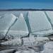 Grandes blocos de gelo
