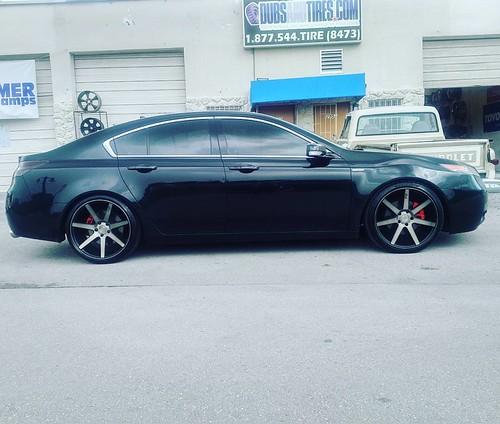 Inch Niche Verona Machine Black Wheels Acura TL - Acura tl rims black