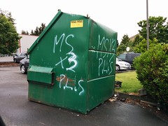 MARA SALVATRUCHA 13 (northwestgangs) Tags: everett ganggraffiti gangtags f13 surenos bloodms13