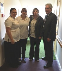 Visiting Tranent Care Home