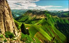 Green velvet (Katarina 2353) Tags: alps landscape switzerland europe rochersdenaye katarinastefanovic katarina2353