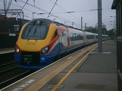222022 @ West Hampstead Thameslink (ianjpoole) Tags: nottingham london st working trains east pancras midlands 222022 1b11