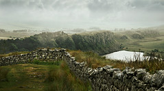 On the border (pentlandpirate) Tags: uk england northumberland cumbria crags hadrianswall romans