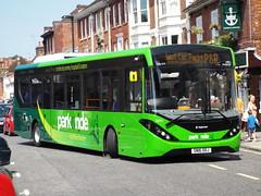 SN16 OOJ (26041) (brendan315) Tags: park new bus green ride 200 pr 16 winchester brand mmc reg stagecoach parkandride enviro enviro200mmc e200mmc 16reg