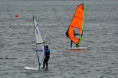 Wind-surfing at Jericho Beach, Vancouver (R-Gasman) Tags: canada vancouver britishcolumbia windsurfing jerichobeach