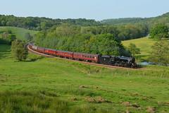 West Coast To East Coast (Feversham Media) Tags: derwentvalley yorkshire northyorkshire lms steamlocomotives 8f stanier 48151 kirkhamabbey wcrc westcoastrailwaycompany