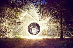 20150809 funnel () (Light painting, Lightgraffitti, Long exposure, lig) Tags: longexposure lightpainting slowshutter lighttrail steelwool lightpaint firepainting lightgraffitti lightpaintingphotography