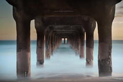 IMG_8346-1p (Vegeta_[Zhang Yaoyuan]) Tags: ocean longexposure sunset summer sand manhattanbeach