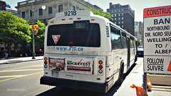 STO 9218 (Alexander Ly) Tags: ontario canada bus classic public nova de coach quebec ottawa transport sto transit gatineau motor autobus industries mci societe outaouais novabus tc40102a