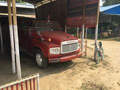 Myanmar, Ayeyarwady Region, Pathein District, Kyaunggon Township, Yaung Pyit Kwin Village Tract (Die Welt, wie ich sie vorfand) Tags: truck cycling burma delta toyota myanmar trucks fireengine steamroller oldtruck surly firebrigade irrawaddy pathein bicycly ayeyarwady ayeyarwadyregion patheindistrict kyaunggon kyaunggontownship yaungpyitkwin
