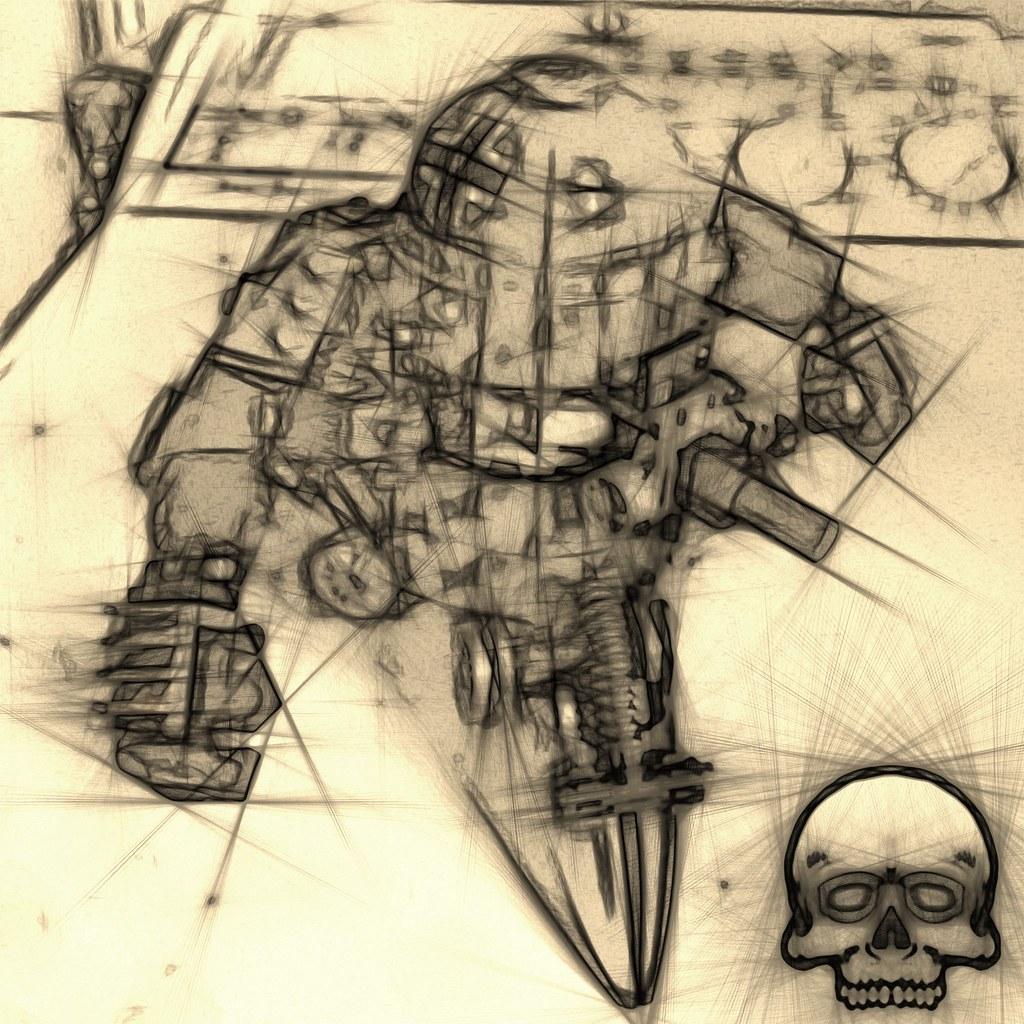 Concept Dieselpunk Mech