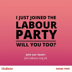 I Just Joined the Labour Party - Will You Too? (chrisjohnbeckett) Tags: labourparty corbyn jeremycorbyn politics socialism chrisbeckett promotion grassroots