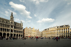 Le Grand Place, Brussels (christianandrea87) Tags: fujifilm xt10 landmark building sky belgium brussels