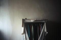 years memory (J0 Lee) Tags: fm2 abandone film ct100 agfa closet clothes dark light