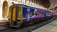 158850 (JOHN BRACE) Tags: york trains class 1992 northern seen derby built 158 livery dmu brel 158850