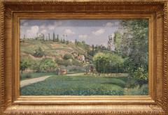 Camille Pissarro - A Cowherd at Valhermeil, Auvers-sur-Oise 1874 (ahisgett) Tags: new york art museum met metropolitian