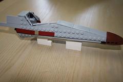 X-Wing WIP (caped_crusader) Tags: new hope star lego space luke wing x return r2d2 empire jedi scifi xwing spaceship wars custom fleet spacecraft skywalker rebels moc