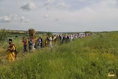 A cross procession from the village of Nikolskoe to the village of Adamovka / Крестный ход из Никольского в Адамовку (33)