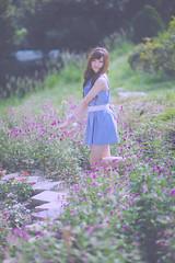 _DSC2825 () Tags: portrait woman cute beauty nikon dress d f14 85mm kawaii brunette charming   taoyuan        8514     d3s nikonafnikkor85mmf14dif 2010201009