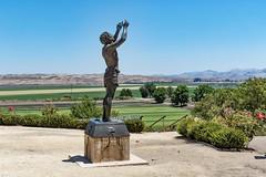 San Juan Valley (J_Richard_Link) Tags: statue landscape johnthebaptist missionsanjuanbautista sanjuanvalley