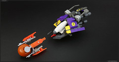R-Type G3 Grizzly (Pierre E Fieschi) Tags: fiction art lego pierre space science micro spaceship concept microspace vaisseau rtype fieschi shmup microscale pierree