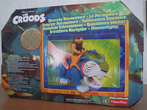 Fisher-Price DreamWorks The Croods Croodaceous Macawnivore