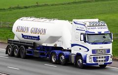 Volvo FH YD10 KHT Simon Gibson (gylesnikki) Tags: white truck artic tanker simongibson
