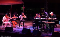 Chick Corea and Gary Burton Hot House Tour with the Harlem String Quartet, 2012 Detroit Jazz Festival (jackman on jazz) Tags: piano violin cello vibes vibraphone violinist cellist chickcorea garyburton melissawhite michigandetroit d7000 harlemquartet nikond7000 jackmanonjazz alanjackman detroitjazzfestivaldetroitinternationaljazzfestivaldetroit harlemstringquartet llmargavilan paulwiancko juanmiguelhernandez