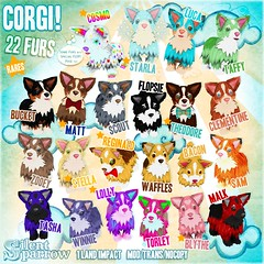~silentsparrow~ Corgi!  for The Arcade June 2013 (hyasynth Tiramisu) Tags: mesh sl secondlife corgis gacha thearcade 100original ~silentsparrow~ madeofcute