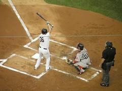 Kevin Youkilis, New York Yankees (MattBritt00) Tags: nyc newyorkcity ny newyork rivalry sports boston al baseball stadium bronx sox redsox borough catcher yankees yankeestadium ballpark yanks mlb umpire jarrodsaltalamacchia americanleague bronxbombers majorleaguebaseball kevinyoukilis