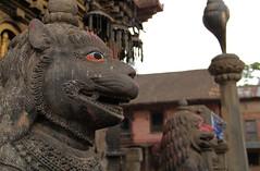 Changu Narayan Statues