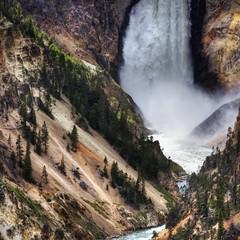 TR_The Falls of Yellowstone-iPad (VesperDEM) Tags: wallpaper montana yellowstone ipad stuckincustoms treyratcliff