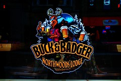 Buck & Badger (Cragin Spring) Tags: wisconsin bar midwest lodge madison badger madisonwi buck wi northwoods madisonwisconsin buckbadgernorthwoodslodge