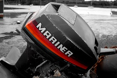 Outboard (Lewis Adams Photography) Tags: uk pink blue sunset red sea england orange macro green bird abandoned love water beautiful clouds train sunrise river fire photography suffolk cool nice swan nikon glow d70s nikond70s ants ipswich woodbridge reclaimed selectivecolor macrophotography riverdeben 2013 dibaday