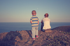 (Khuroshvili Ilya) Tags: boy sea summer portrait people baby mountains nature girl canon children kid babies child horizon mother ukraine emotional crimea atmospheric 2013 nvbr nvbr11