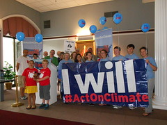 "NH ""I Will Act on Climate"" Bus Tour"